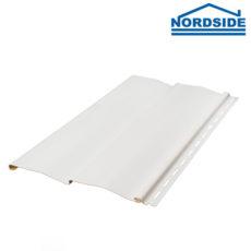 Вініловий сайдинг «NordSide Білий»