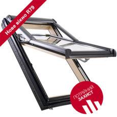 Мансардне вікно «Roto Designo R79 WD»